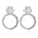 Caroline Svedbom Andriana Earrings Rhodium