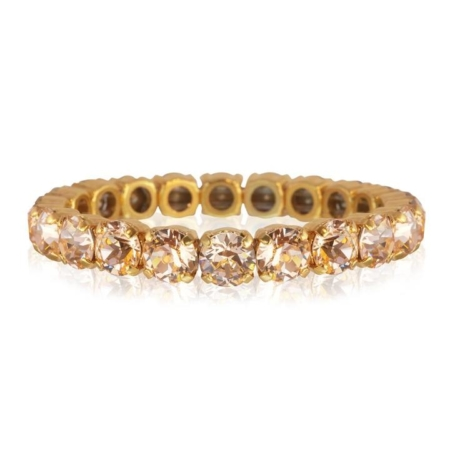 Caroline Svedbom Gia Stretch Bracelet Light Peach