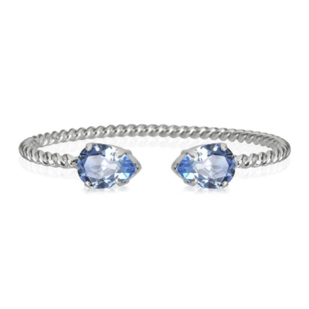 Caroline Svedbom Mini Drop Bracelet Light Sapphire