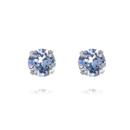 Caroline Svedbom Classic Stud Earrings Light Sapphire