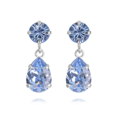 Caroline Svedbom Mini Drop Earrings Light Sapphire