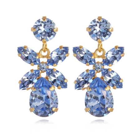 Caroline Svedbom Mini Dione Earrings Light Sapphire