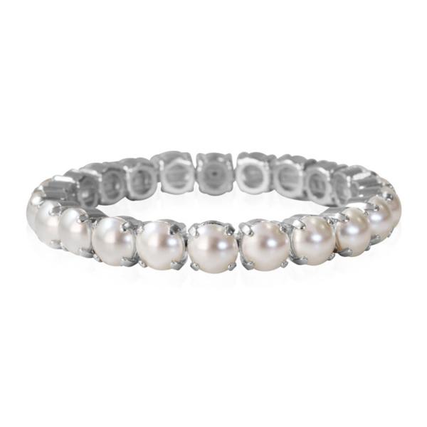 Caroline Svedbom Gia Stretch Bracelet Pearl
