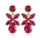 Caroline Svedbom Mini Dione Earrings Fuchsia