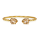 Caroline Svedbom Mini Drop Bracelet Light Peach