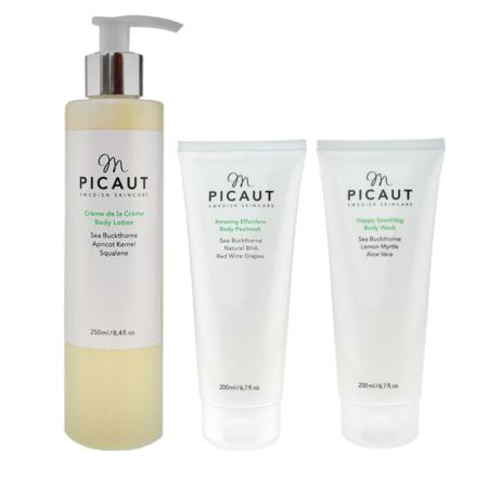 M Picaut hudvårdspaket kropp