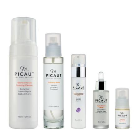M Picaut hudvårdspaket normal blandhy morgon kväll