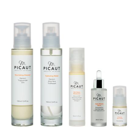 M Picaut hudvårdspaket normal känslig hud