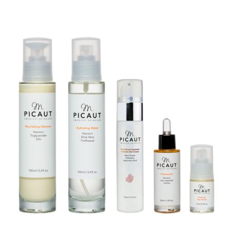 M Picaut hudvårdspaket normal torr mogen hud dag natt