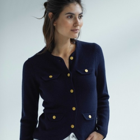 Davida Jacket Navy