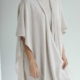Davida Open poncho Light beige