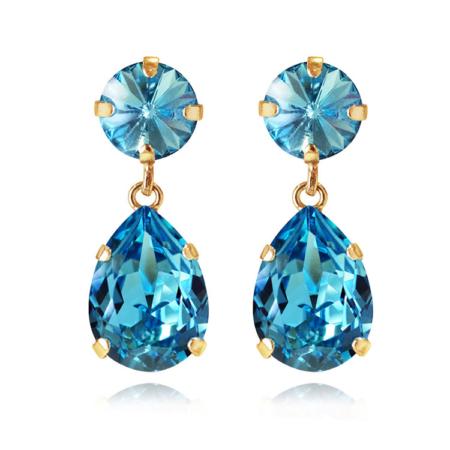 Caroline Svedbom Classic Drop Earrings Light Turquoise