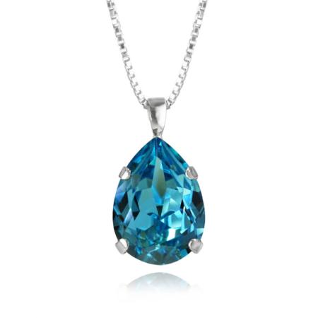 Caroline Svedbom Classic Drop Necklace Light Turquoise