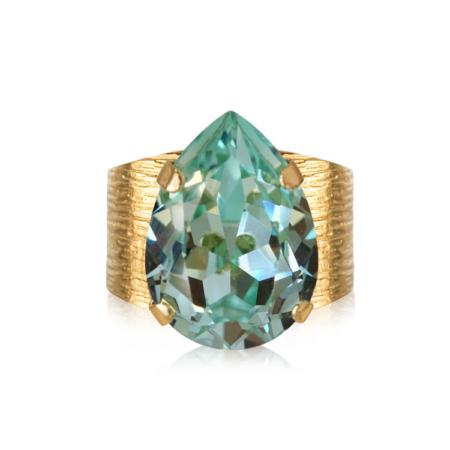 Caroline Svedbom Classic Drop Ring Chrysolite