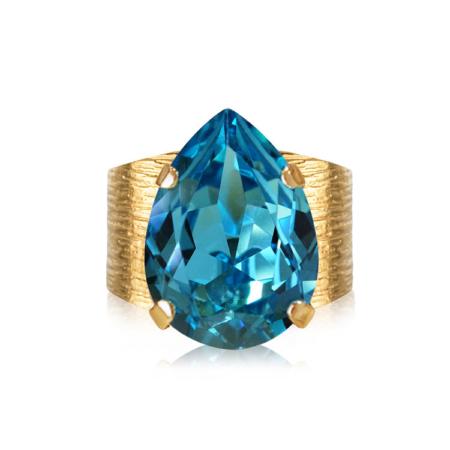 Caroline Svedbom Classic Drop Ring Light Turquoise
