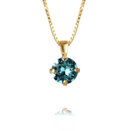 Caroline Svedbom Classic Petite NecklaceLight Turquoise
