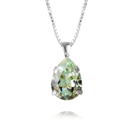 Caroline Svedbom Mini Drop NecklaceChrysolite