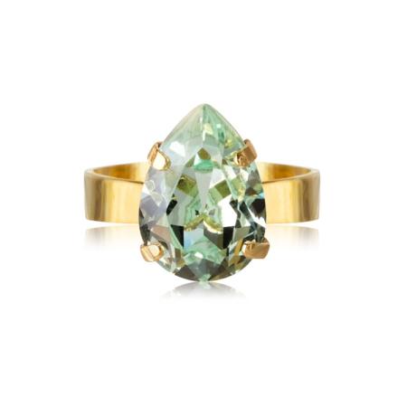Caroline Svedbom Mini Drop Ring Chrysolite