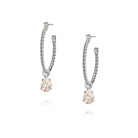 Caroline Svedbom Nani Earrings Crystal