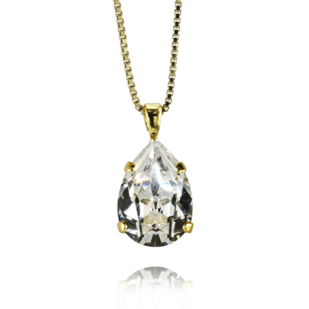 Caroline Svedbom Mini Drop Necklace Gold