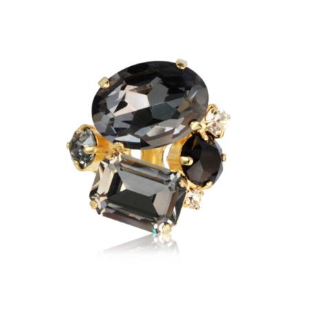 Caroline Svedbom Carolina Ring Black Diamond Combo