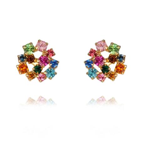Caroline Svedbom Kassandra Earrings Rainbow Combo