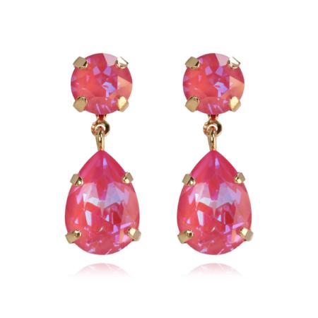 Caroline Svedbom Mini Drop Earrings Lotus Pink Delite
