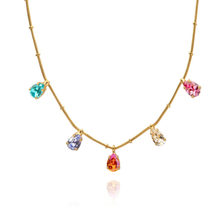 Caroline Svedbom Estelle Necklace Rainbow Combo