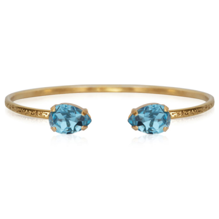 Caroline Svedbom Petite Drop Bracelet Aquamarine