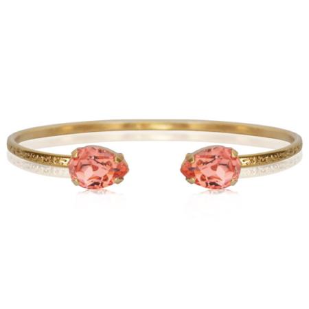 Caroline Svedbom Petite Drop Bracelet Rose Peach