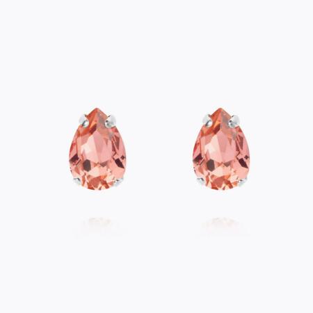 Caroline Svedbom Petite Drop Stud Earring Rose Peach